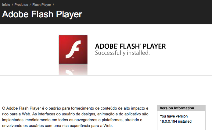 what does adobe flash player do