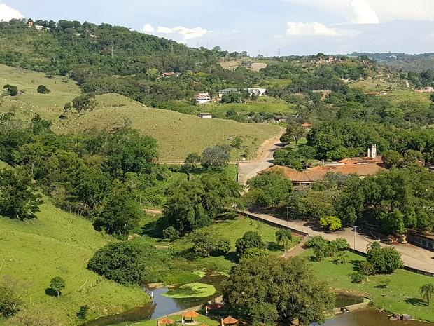 Fonte Sônia, em Valinhos, tem área estimada em 2,5 milhões de metros quadrados (Foto: Fernando Pacífico / G1)