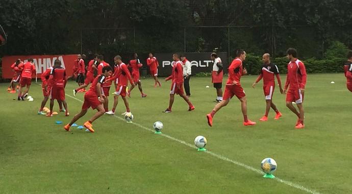 São Paulo treino (Foto: Marcelo Hazan)
