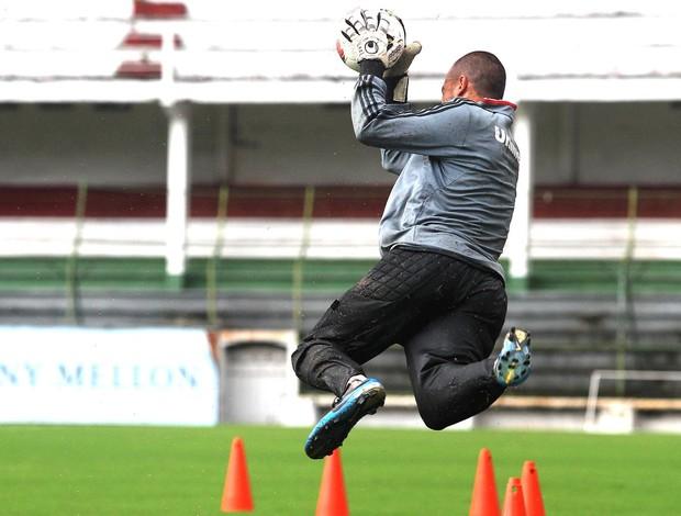 Diego Cavalieri, treino do Fluminense (Foto: Nelson Perez / Fluminense. F.C.)