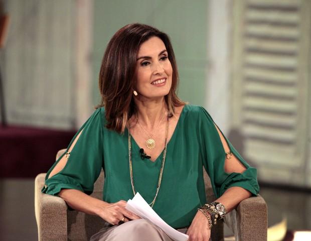 Fátima Bernardes fala sobre a nova rotina (Foto: Divulgação/ TV Globo)