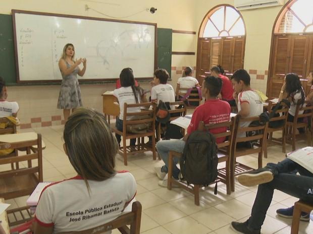 Escola acre (Foto: Reprodução/Rede Amazônica Acre)