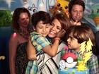 Nívea Stelmann faz festa para comemorar o aniversário do filho, Miguel