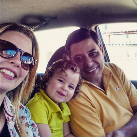 Debby, Duda e Leandro (Foto: Reprodução)