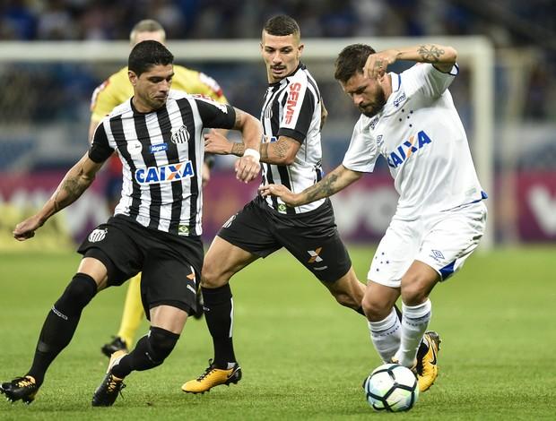 Renato Alison Rafael Sobis Cruzeiro x Santos
