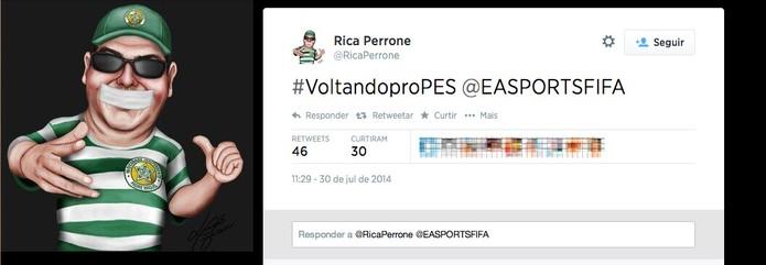 Fifa Rica Perrone 02 (Foto: Reprodução/Melissa Cruz)