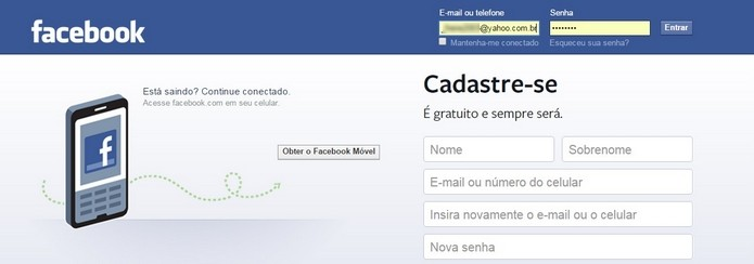 Saiba como fazer o Facebook esquecer sua senha (Foto: Reprodução/Raquel Freire)