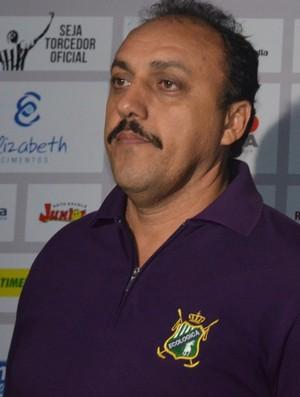 Zezinho do Botafogo, Zezinho Botafogo, Zezinho, vice-presidente de futebol, Botafogo-PB (Foto: Pedro Alves / GloboEsporte.com/pb)