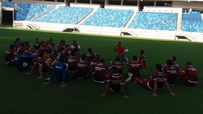 América-RN Rodrigo Peixoto coach (Foto: Canindé Pereira/Divulgação)