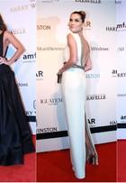 Juliana Paes é eleita a mais bem-vestida do baile da amfAR