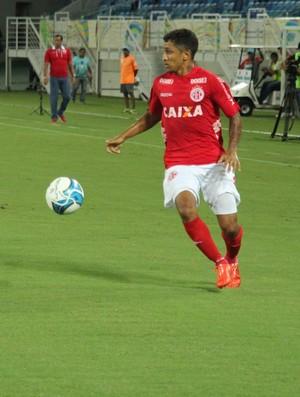 Thiago Potiguar - meia do América-RN (Foto: Fabiano de Oliveira)