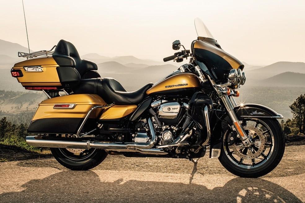 Harley-Davidson Ultra Limited (Foto: Divulgação)