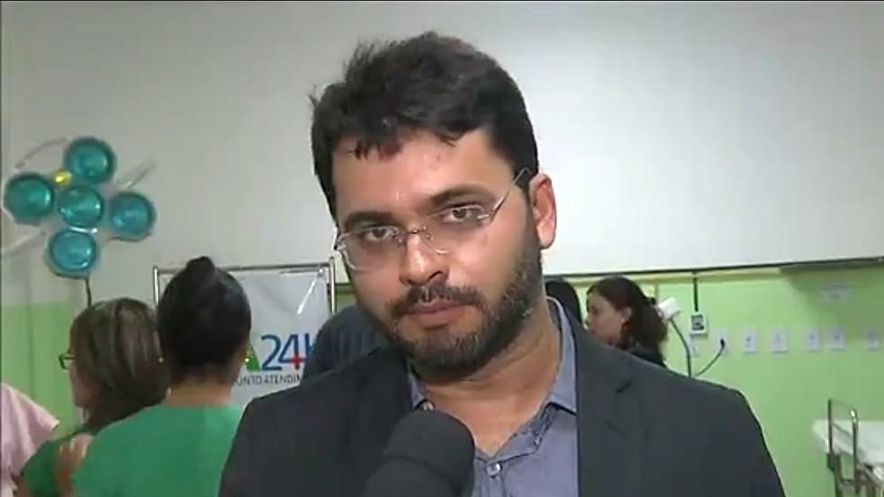 Prefeito de Bayeux, Berg Lima, foi preso suspeito de extorção a fornecedor da prefeitura na Paraíba (Foto: Reprodução/TV Cabo Branco)