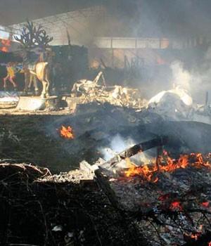 incêndio Natal Luz (Foto: Cleiton Thiele/Agência RBS)