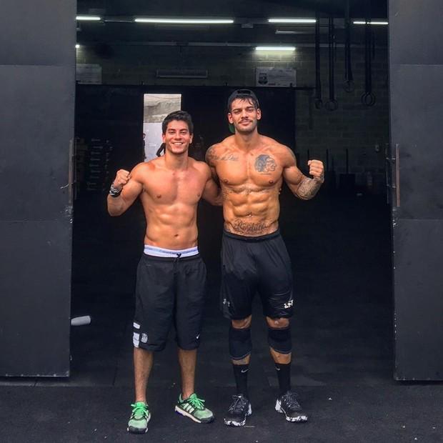 Arthur Aguiar e Lucas Lucco (Foto: Instagram / Reprodução)