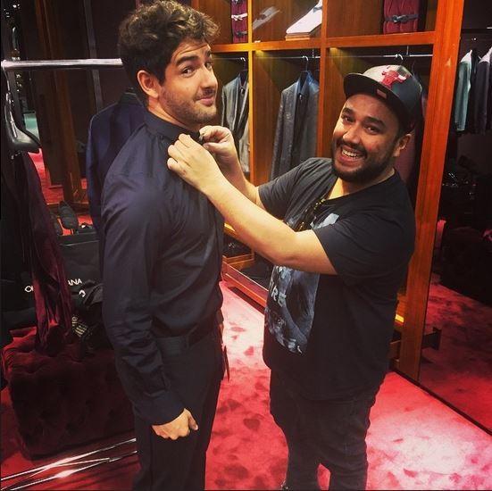 Alexandre Pato e Alê Duprat (Foto: Reprodução do Instagram)