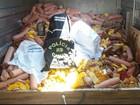 Ação prende homem e recolhe mais de 3,5 mil kg de alimentos no RS