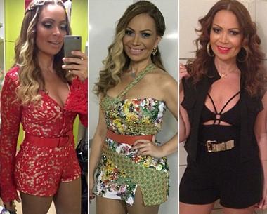 Sol Almeida curte looks sexy e assume lado 'blogueira de moda' (Arquivo pessoal)