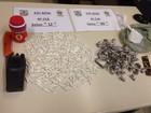 Cinco são flagrados com 344 cápsulas de cocaína em Rio Claro, RJ