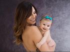 Rubia Baricelli posta foto com a filha Helena: 'Esbanjando simpatia'