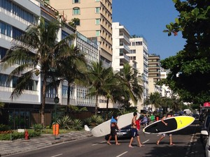 Ipanema está entre os bairros procurados pelos turistas (Foto: Káthia Mello/G1)