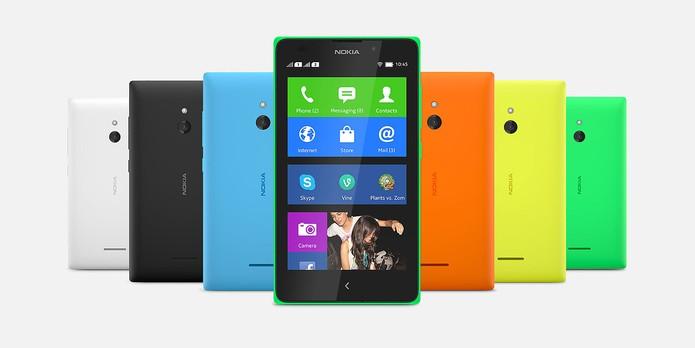 Nokia XL (Foto: Divulgação/Nokia)
