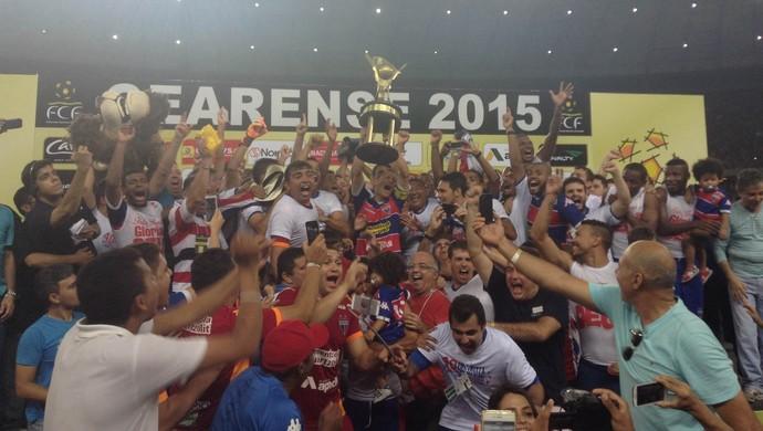 Fortaleza campeão Ceará Castelão (Foto: Thais Jorge / GloboEsporte.com)