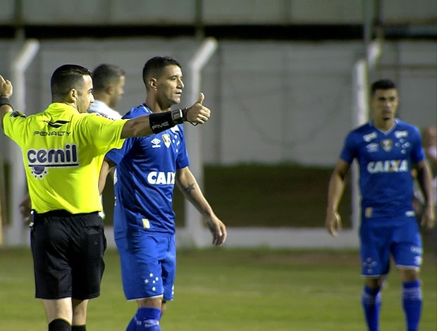 Cruzeiro; Caldense; Thiago Neves