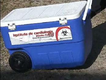 Coração será levado para transplante em Brasília (Foto: Reprodução RPC TV)