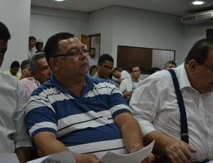 Geilson Limeira, presidente do Penedense (Foto: Jota Rufino/GloboEsporte.com)