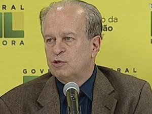 O ministro da Educação, Renato Janine Ribeiro (Foto: Reprodução)