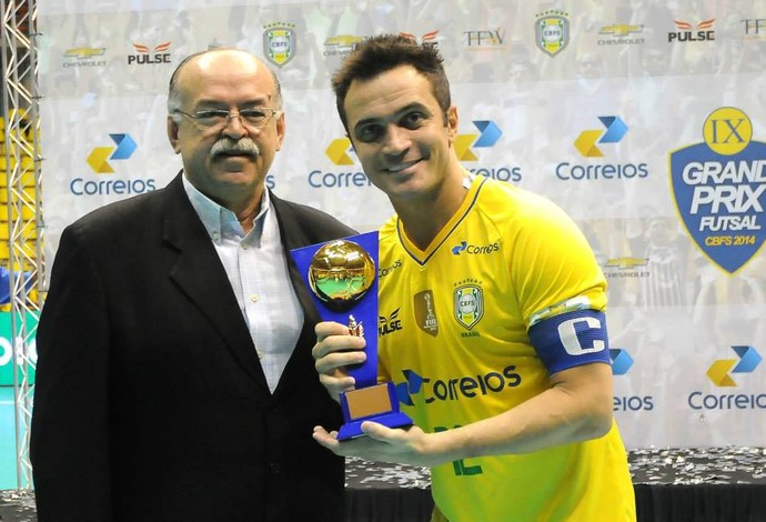 Falcão Renan Tavares Grand Prix futsal (Foto: Luciano Bergamaschi/CBFS)