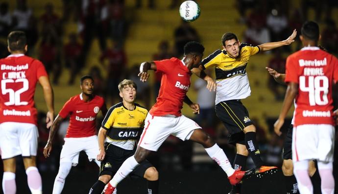 Criciúma x Inter Primeira Liga Heriberto Hulse (Foto: Ricardo Duarte/Internacional/Divulgação)