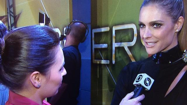 Fernanda Lima é uma das entrevistadas do programa (Foto: Reprodução/RBS TV)