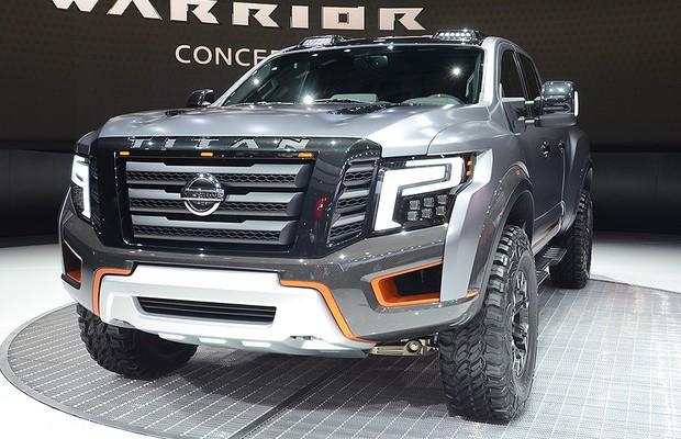 Conceito Nissan Titan Warrior deve ter versão de produção