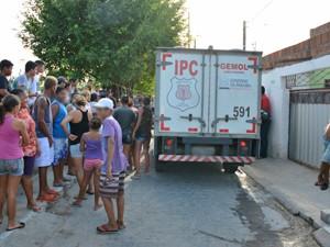 Homicídio aconteceu em Mandacaru (Foto: Walter Paparazzo/G1)
