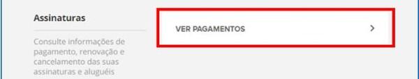 Ver Pagamentos (Foto: Globoplay Ver Pagamentos)
