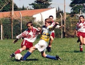 Paulo Victor Flamengo criança (Foto: Arquivo Pessoal)