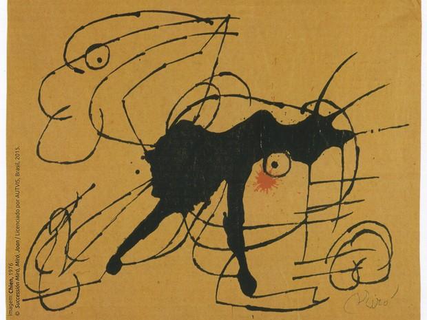 A Magia de Miró fica em cartaz até o dia 15 de novembro (Foto: Divulgação)