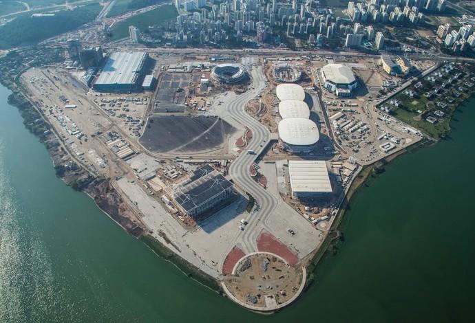 Parque Olímpico em agosto de 2015 (Foto: Renato Sette Camara / Prefeitura do Rio)