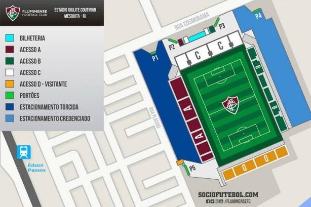 Mapa Fluminense Edson Passos (Foto: Reprodução)