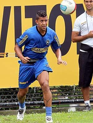 Antônio Carlos treino do botafogo (Foto: Cezar Loureiro / O Globo)