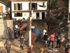 Deslizamento deixa quatro mortos em Itapecerica da Serra