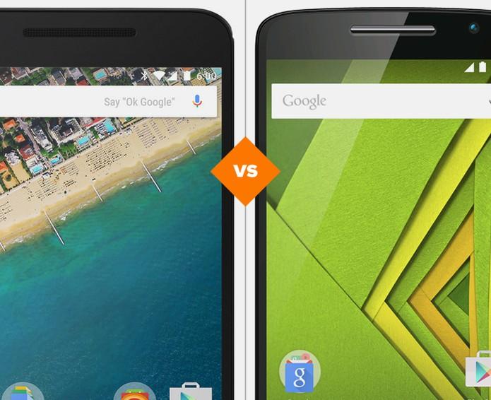 Nexus 5X ou Moto X Play? Veja quem vence o comparativo (Foto: Arte/TechTudo)
