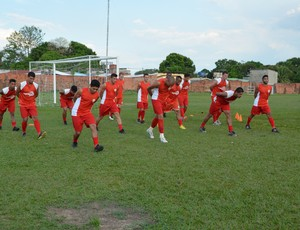 Rio Branco treino 12 de setembro (Foto: Duaine Rodrigues)