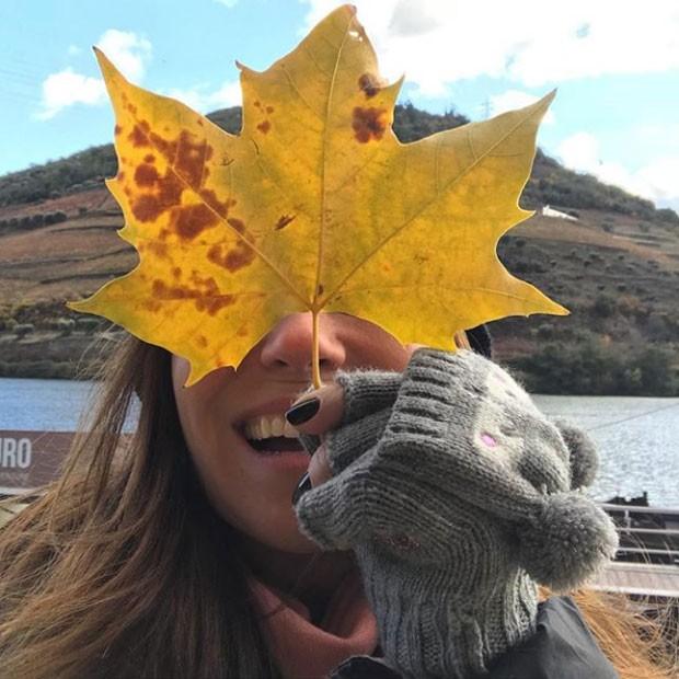 Giovanna Antonelli em Portugal (Foto: Reprodução Instagram)
