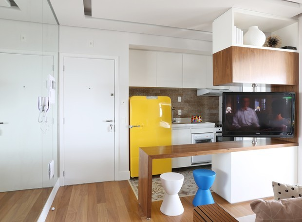 duda-senna-apartamento-vila-mariana-sala-de-tv (Foto: Mariana Orsi)