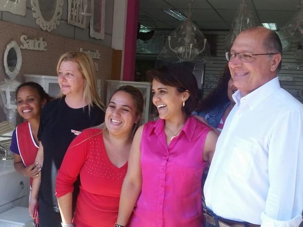 Governador Geraldo Alckmin participa de evento nesta segunda-feira (Foto: Tatiana Santiago/G1)