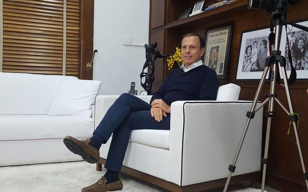 Prefeito diz que quem vota no PT é mal informado ou quer defender as mazelas do partido  (Foto: Felipe Souza/BBC Brasil)