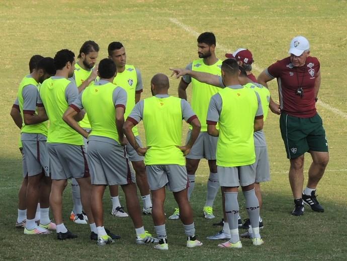 Fluminense treino Levir Culpi (Foto: Hector Werlang)